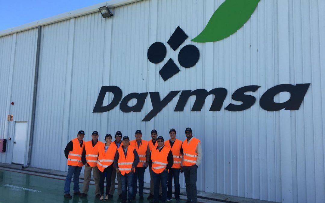 Visita del distribuidor de República Dominicana a Daymsa