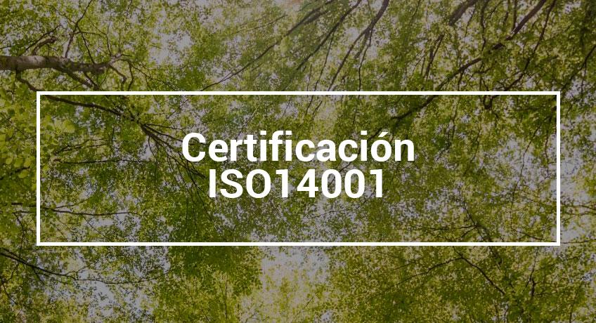 DAYMSA consigue el certificado ISO 14001