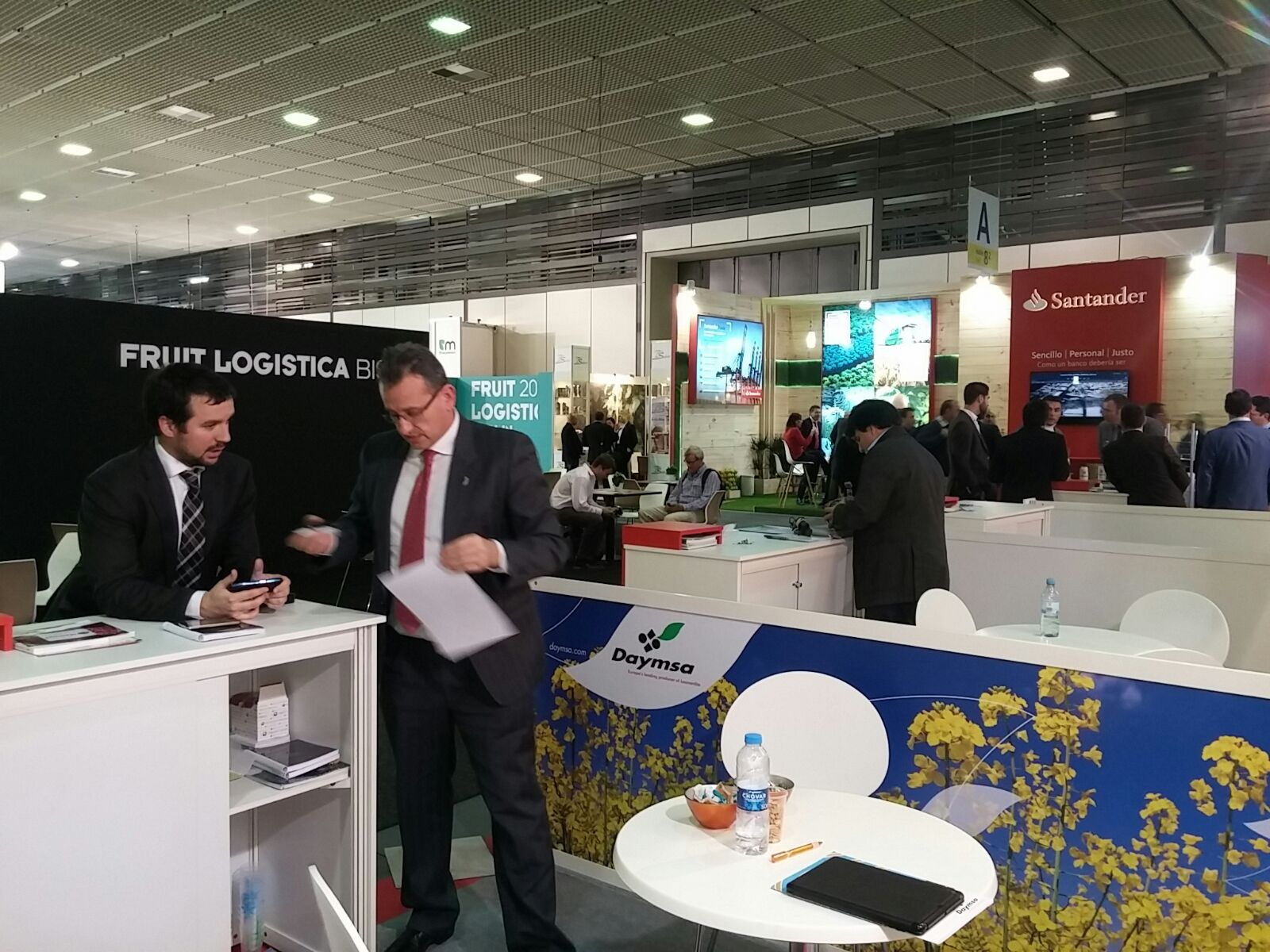 Satisfaction with Daymsa´s participation at Fruit Logistica