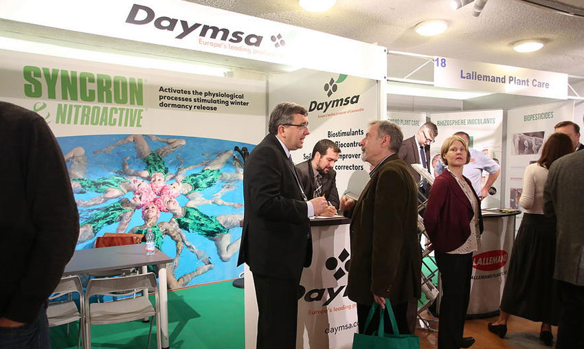 Daymsa sponsored the 2nd World Congress on the use of Biostimulants in Agriculture
