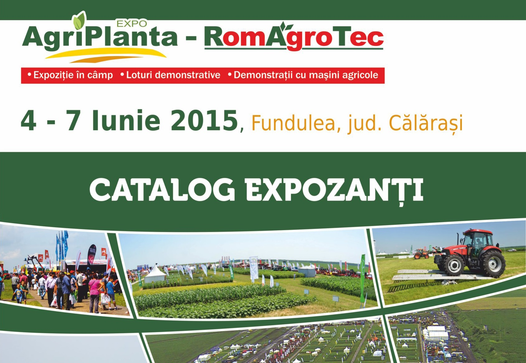 Daymsa will be present at Expo Agriplanta 2015 in Romania